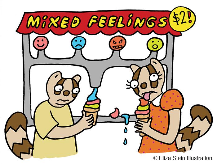 Mixed Feelings Illustration