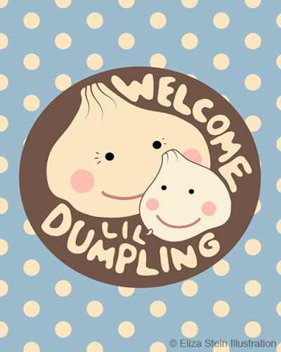 Welcome Dumpling Blue