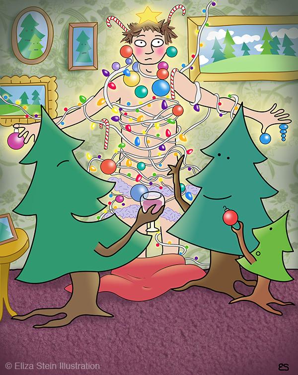 Christmas Switcheroo Illustration