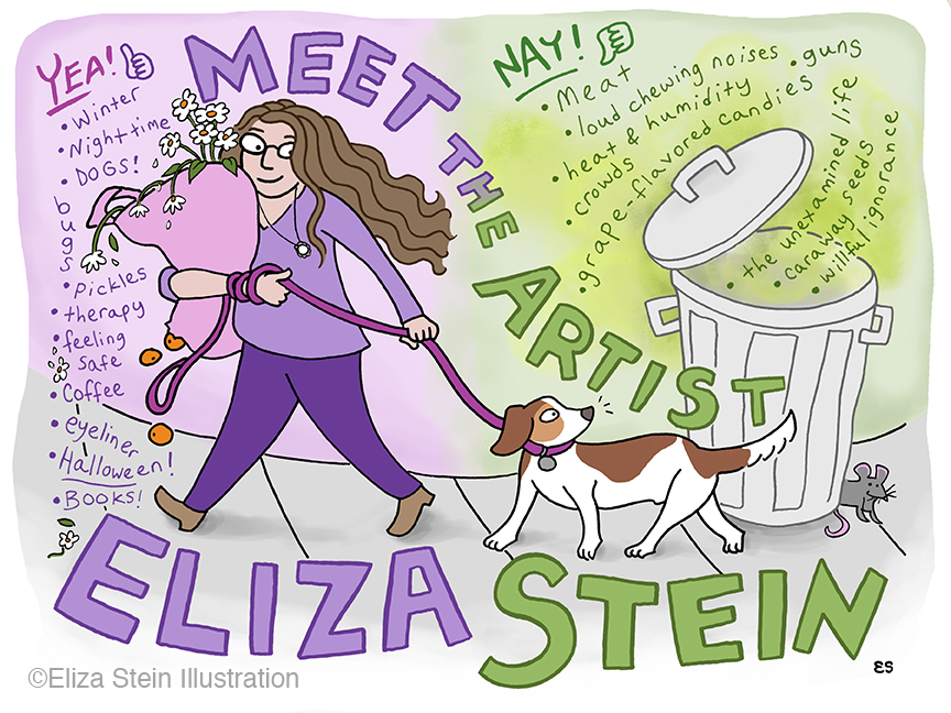 Meet the Artist Illustration