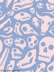 Skull Pattern Pantone 2016