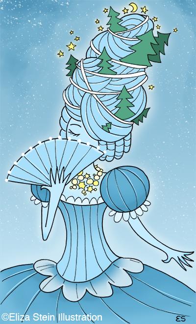 Queen Frostine Illustration