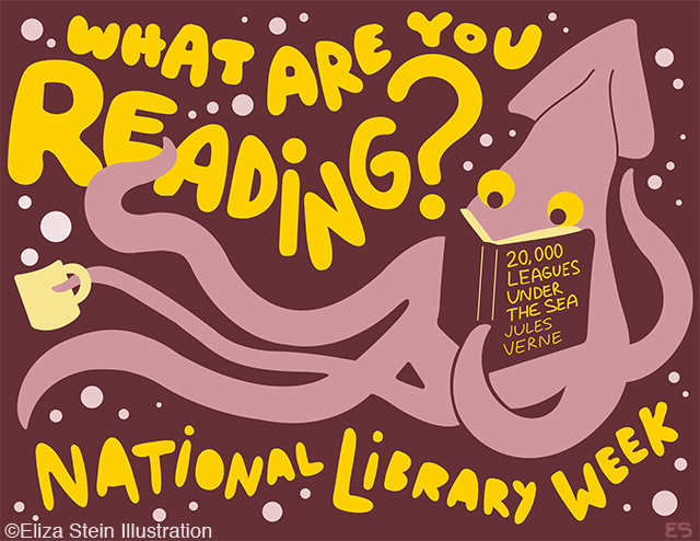National Library Week Kraken