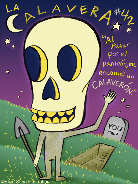 La Calavera Illustration
