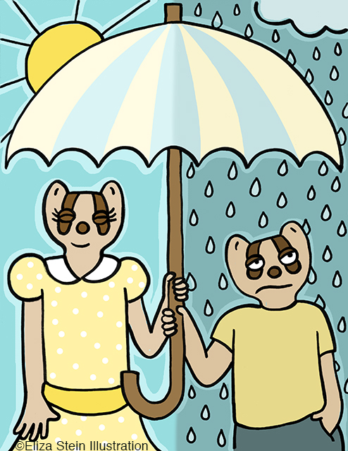 Rain or Shine Illustration