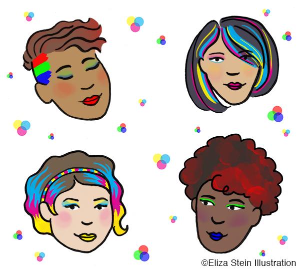 RGB CMYK Makeovers
