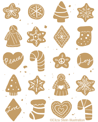 Christmas Cookies Illustration