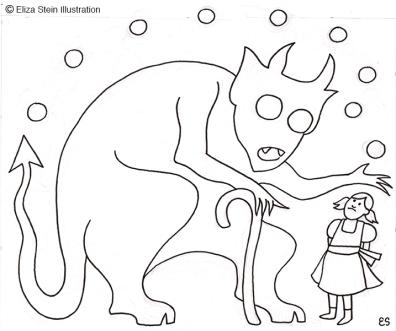 Devil's Nine Questions Illustration