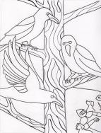 Three Ravens Illustration