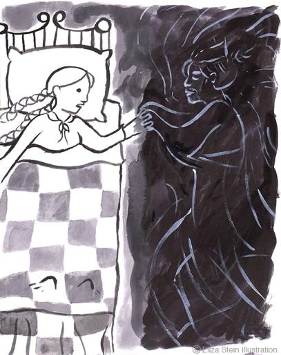 Sweet William's Ghost Illustration