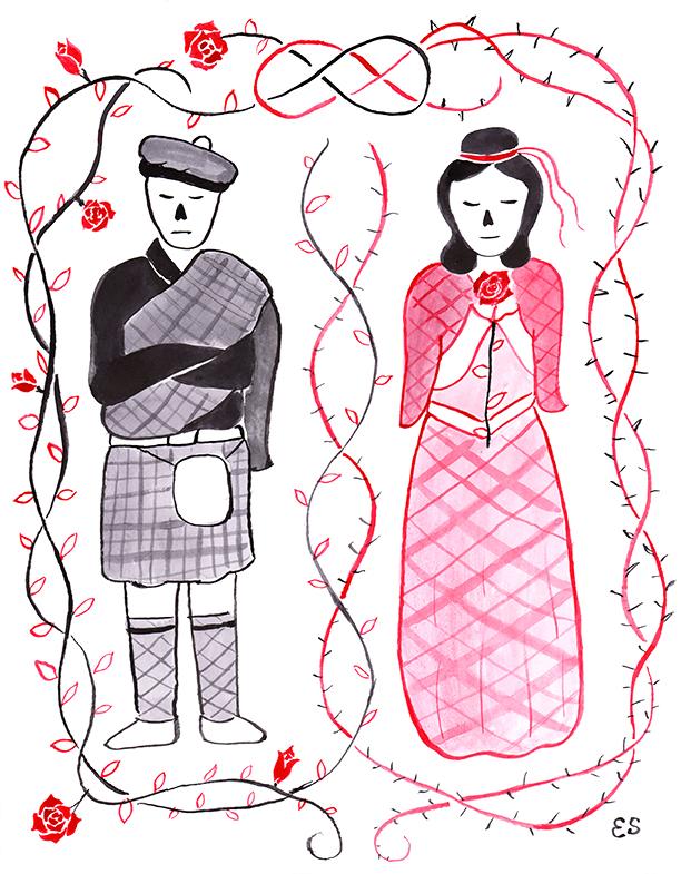 Barbara Allen Illustration
