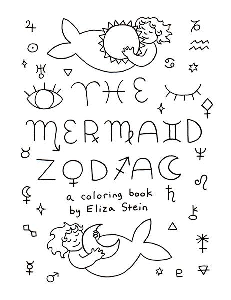 Zodiac Coloring Book Cover