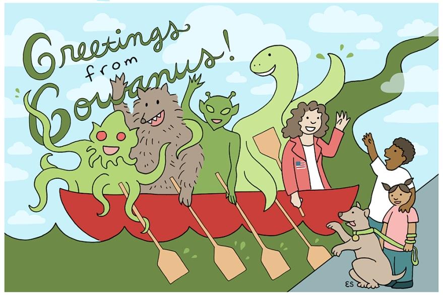 Greetings from Gowanus postcard