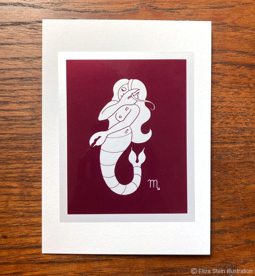 Scorpio Zodiac Greeting Card